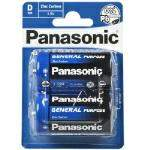 PANASONIC General Purpose Mono Batterien R20B im 2er Blister