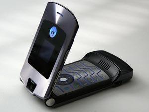Motorola Razr Handy