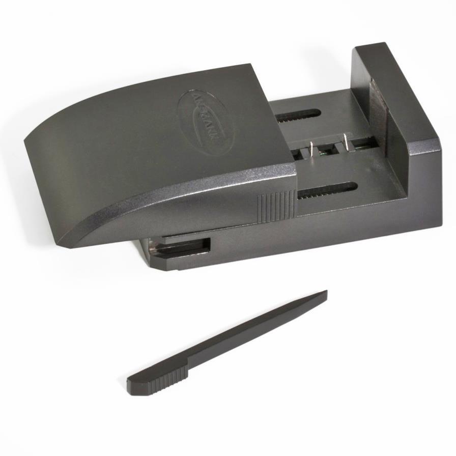 Inkl. Adapterplatte für Li-Ion / Li-Poly Akku