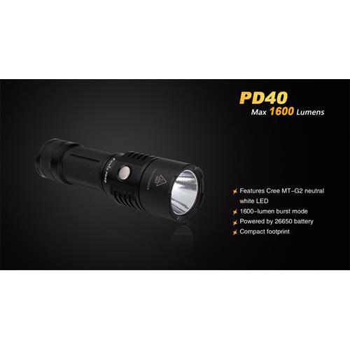 1.600 Lumen LED Taschenlampe