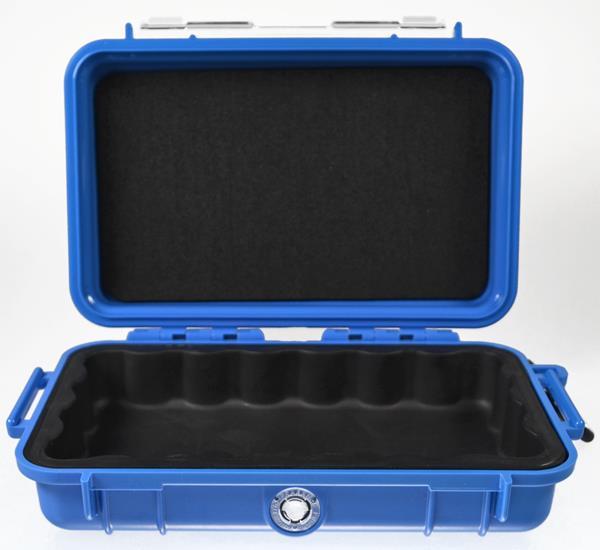 1040 Micro Case PELI blau Innen gepolstert