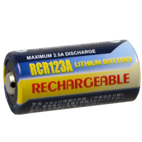 3,0 Volt RCR123A Li-Ion Akku