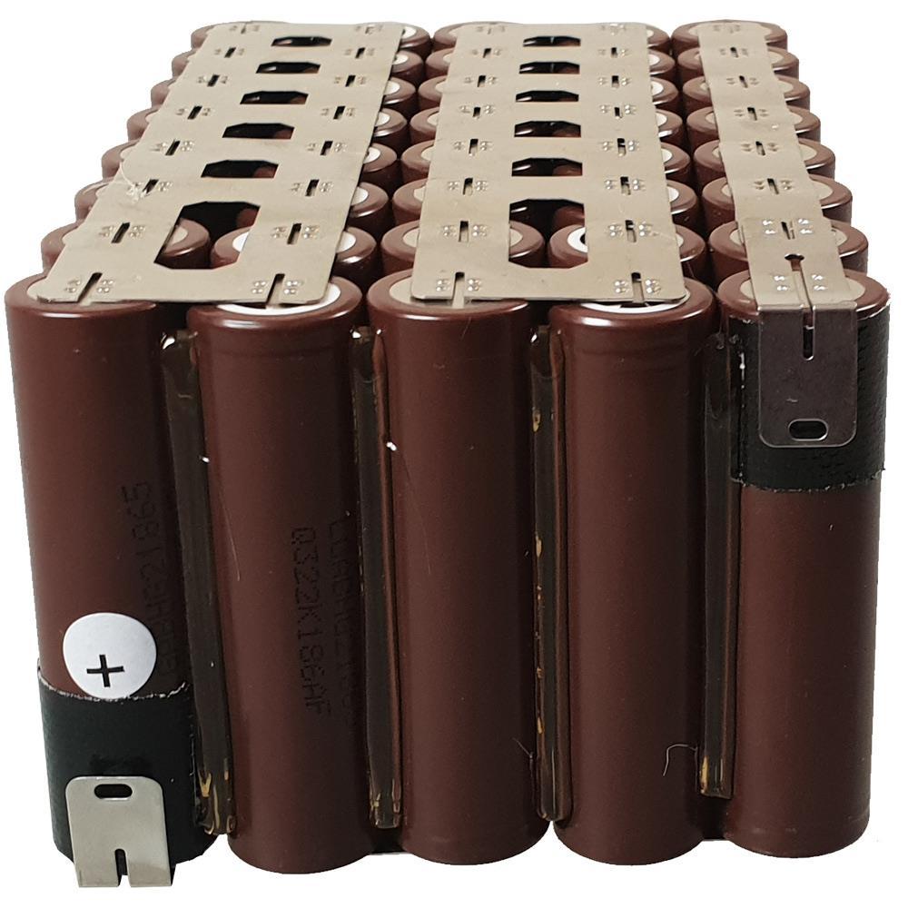 5S8P Li-Ion Ersatz-Akku-Pack Einsatz ohne BMS