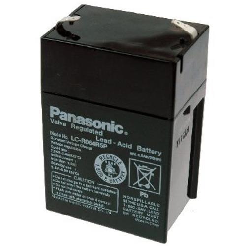 6V 4.5Ah Panasonic LCR064R5P Akku