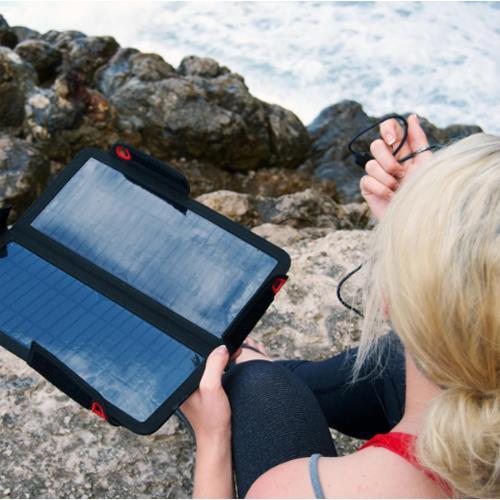 9 W USB Solar Kit Solarpanel & XGB3L Powerban