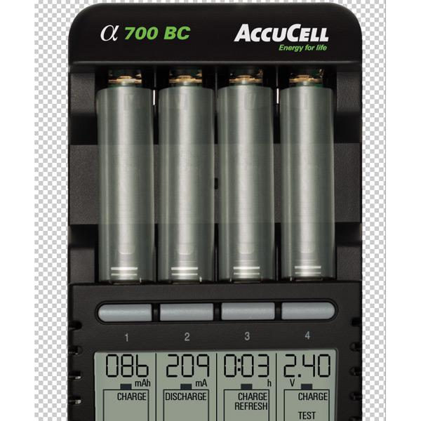 AccuCell BC700 LCD Display