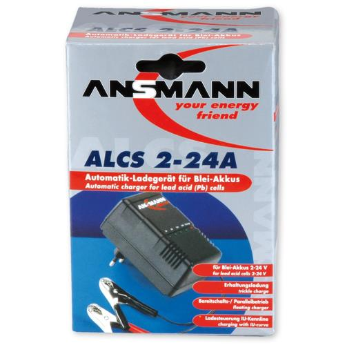 Ansmann ALCS 2-24A mit Verpackung