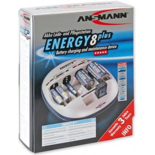 Ansmann Super-Schnell-Ladegerät ENERGY 8 plus
