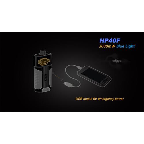 Batteriefach mit USB-Lade-Funktion