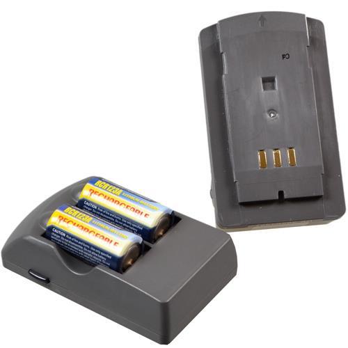 CRV123A Ladegerät mit wechselbaren Adapter