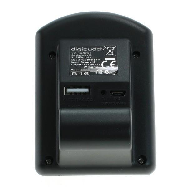 Digibuddy 5701 USB Ladegerät für Sony