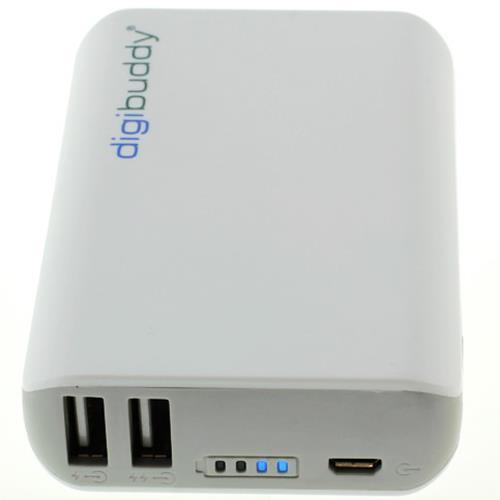 Digibuddy Powerbank 6600mAh mit Dual USB