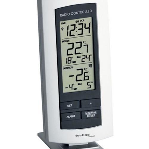 Display des WS-9140-IT Temperaturstation
