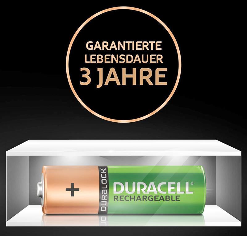 Duracell Akku Plus mit 3 Jahre Garantie