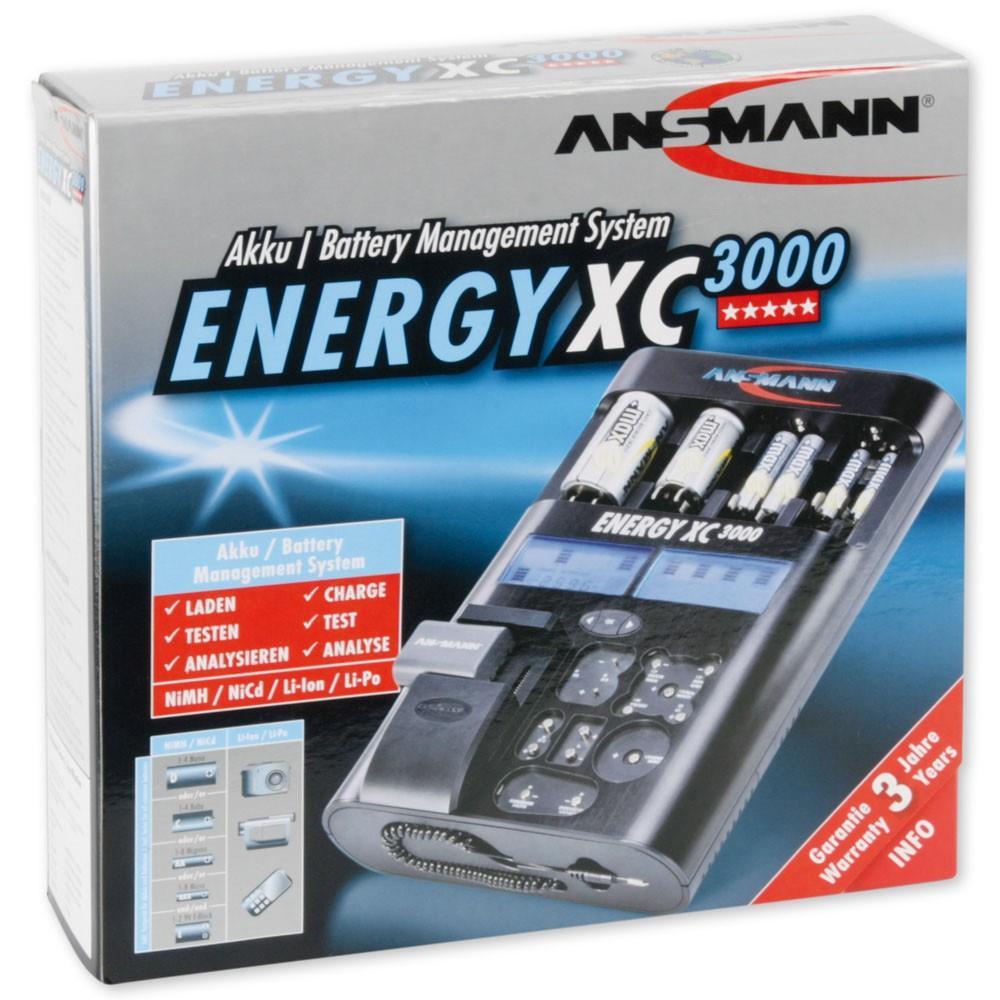 Energy XC3000 Ansmann Universal-Ladegerät