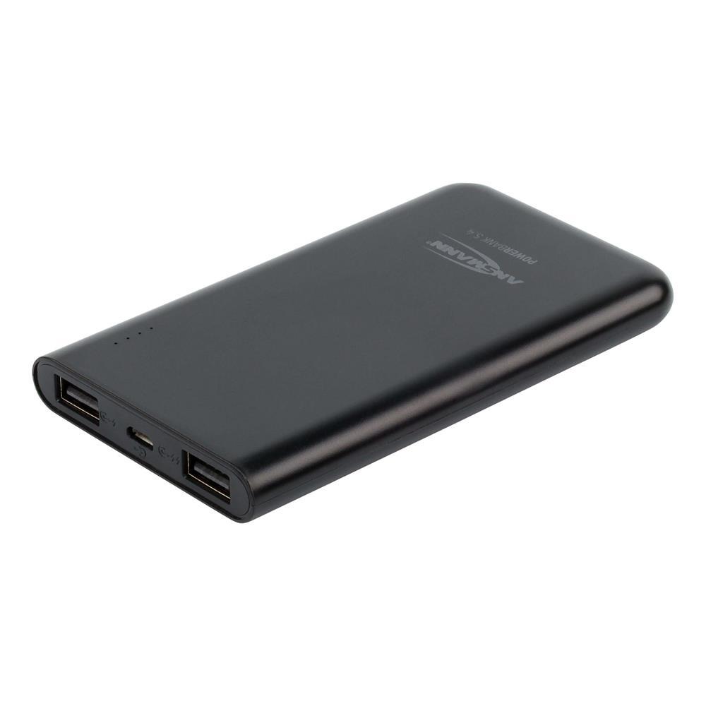 Externer Zusatzakku mit zwei USB-Ladebuchsen
