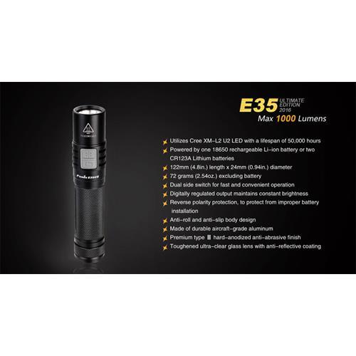 Fenix E35UE LED-Taschenlampe