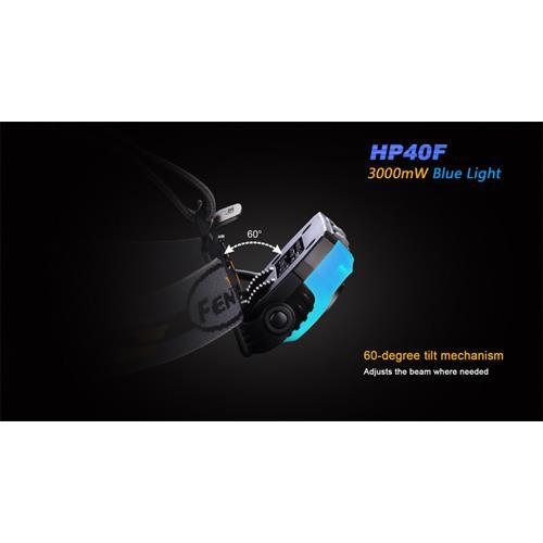 Fenix HP 40F Cree XP-E2 M3 und XP-G2 R5  LEDs