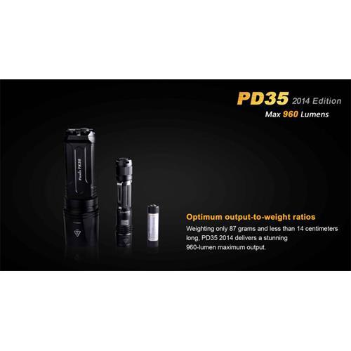 Fenix PD35 Cree XM-L2 LED Taschenlampe 2014 E