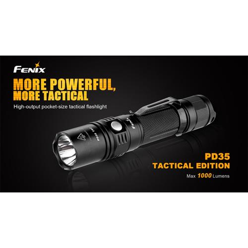 Fenix PD35 TAC LED-Taschenlampe Technical Edi