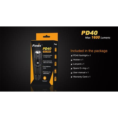 Fenix PD40 Taschenlampe