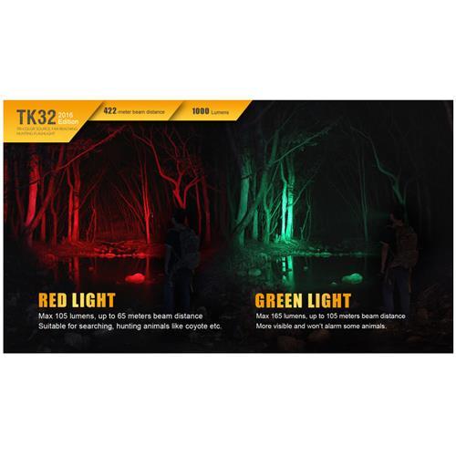 Fenix TK32 Cree XP-L HI V3 weißes Licht & XQ-
