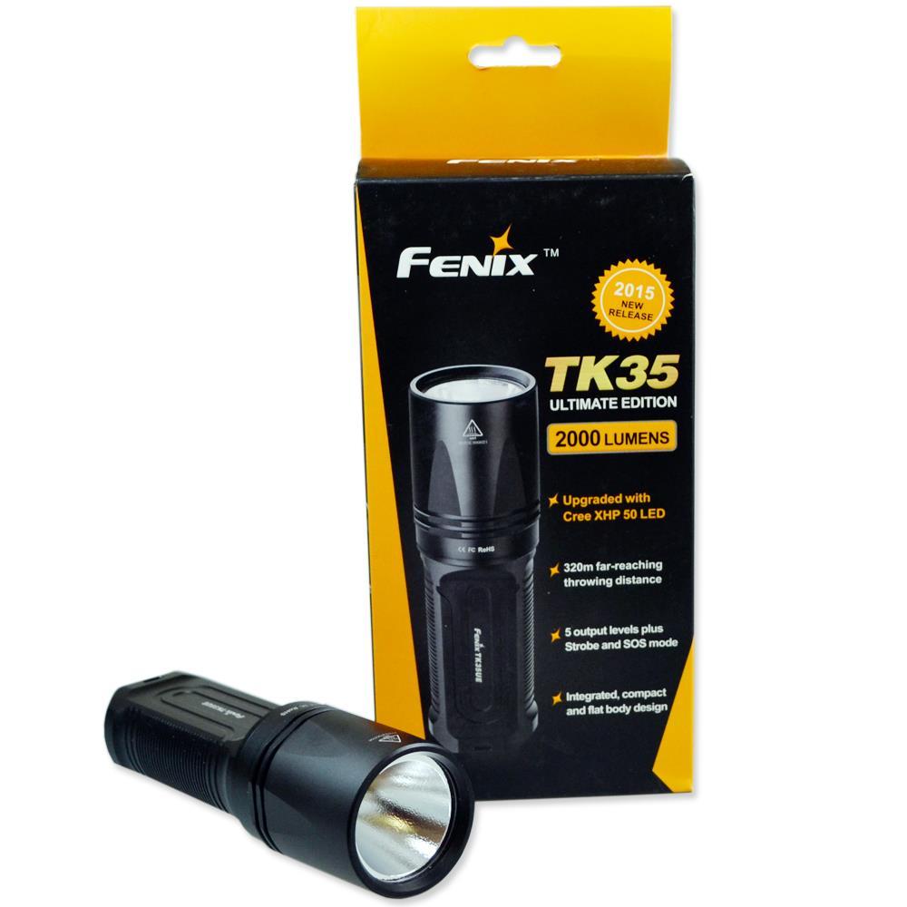 Fenix TK35UE Cree XHP 50 Edition Verpackung