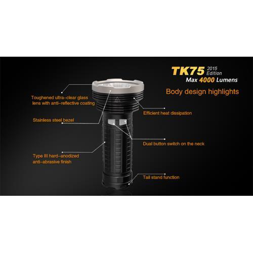 Fenix TK75 Cree XM-L2 U2 LED Taschenlampe