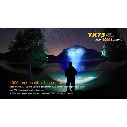Fenix TK75 LED-Taschenlampe