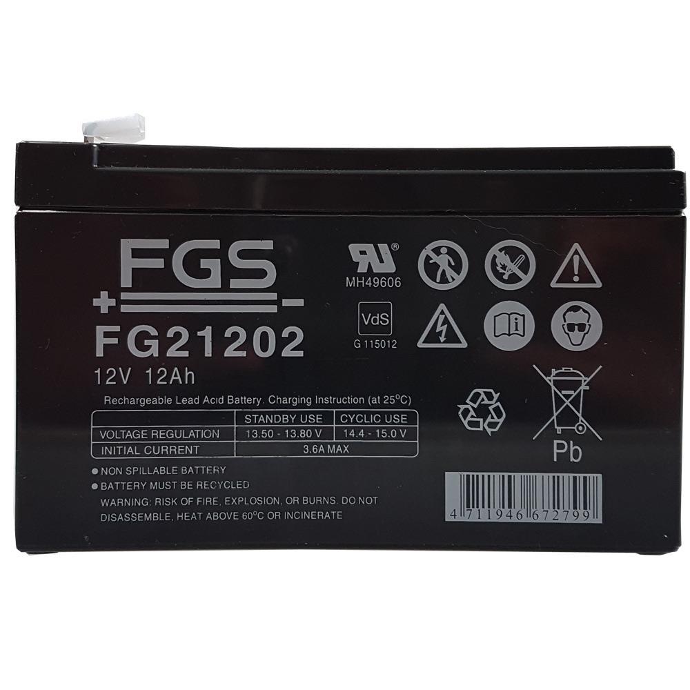 FGS FG21202 12V 12Ah Bleigel-Akku