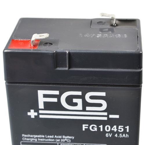 FGS FGS10451 mit 4,8mm Steckanschlüssen