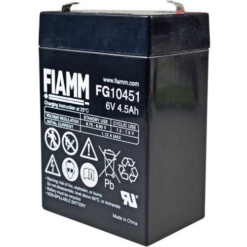 Fiamm FG10451 mit 4,8mm Steckanschlüssen