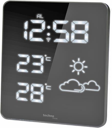 Funk Wetterstation WS6825 mit Spiegel-Display