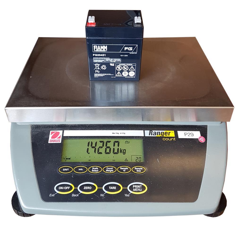 Gewicht Fiamm FG20451