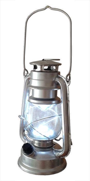 Handlampe im Öl-Lampen Design für Camping