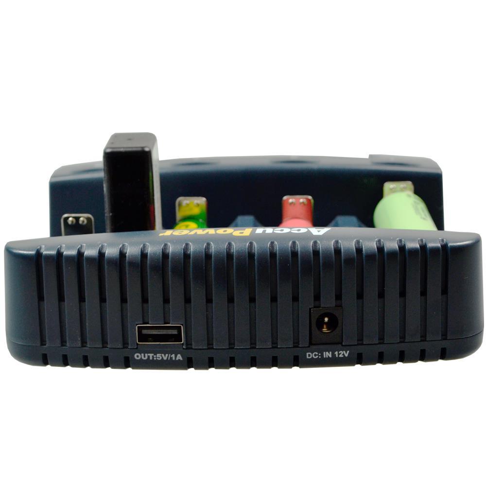 IQ338XL Ladegerät mit USB Ladebuchse