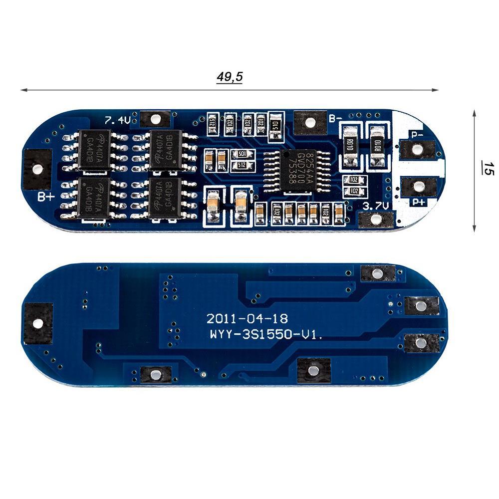 KeepPower 3S-1550 PCB