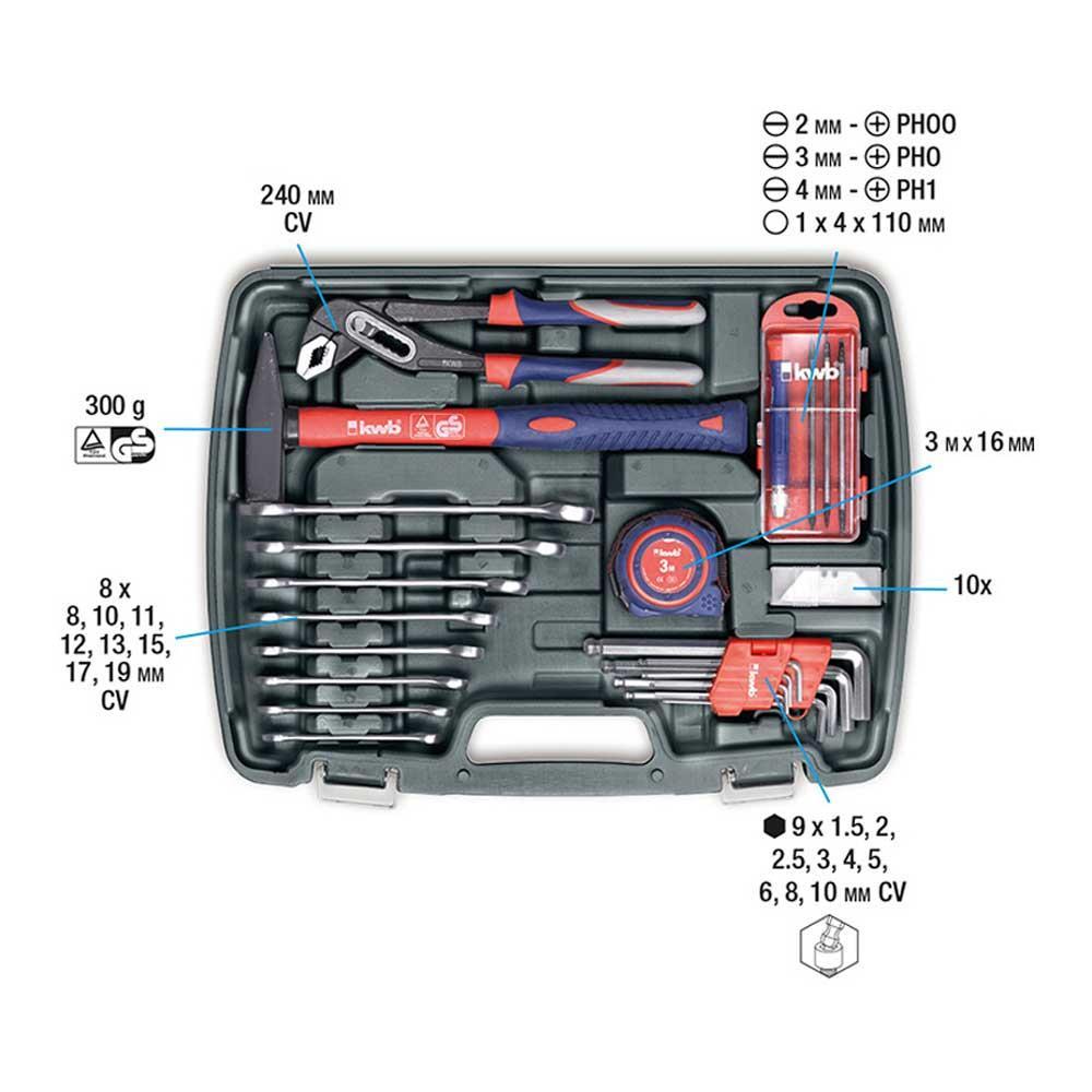 KWB Werkzeugkoffer 2