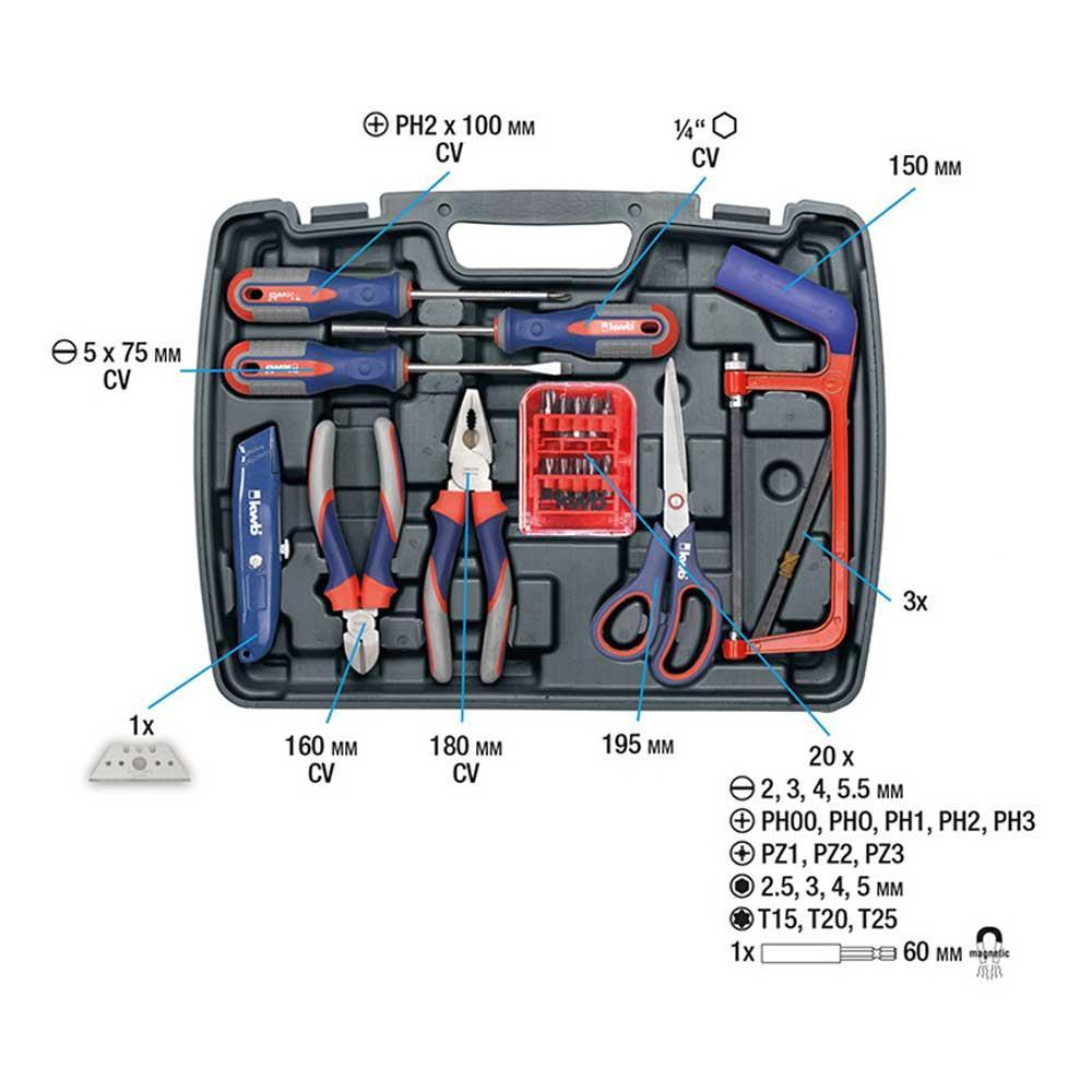 KWB Werkzeugkoffer 3