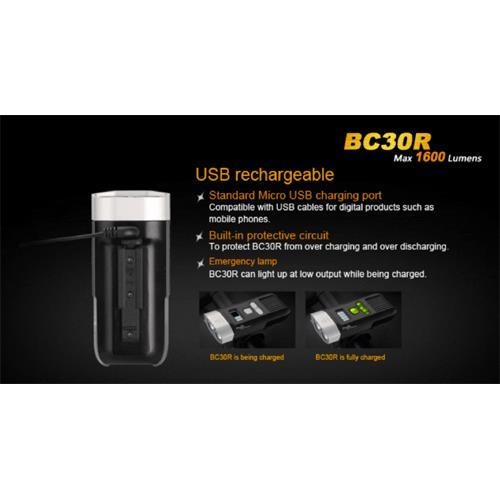 Ladbar mit Micro-USB Ladekabel