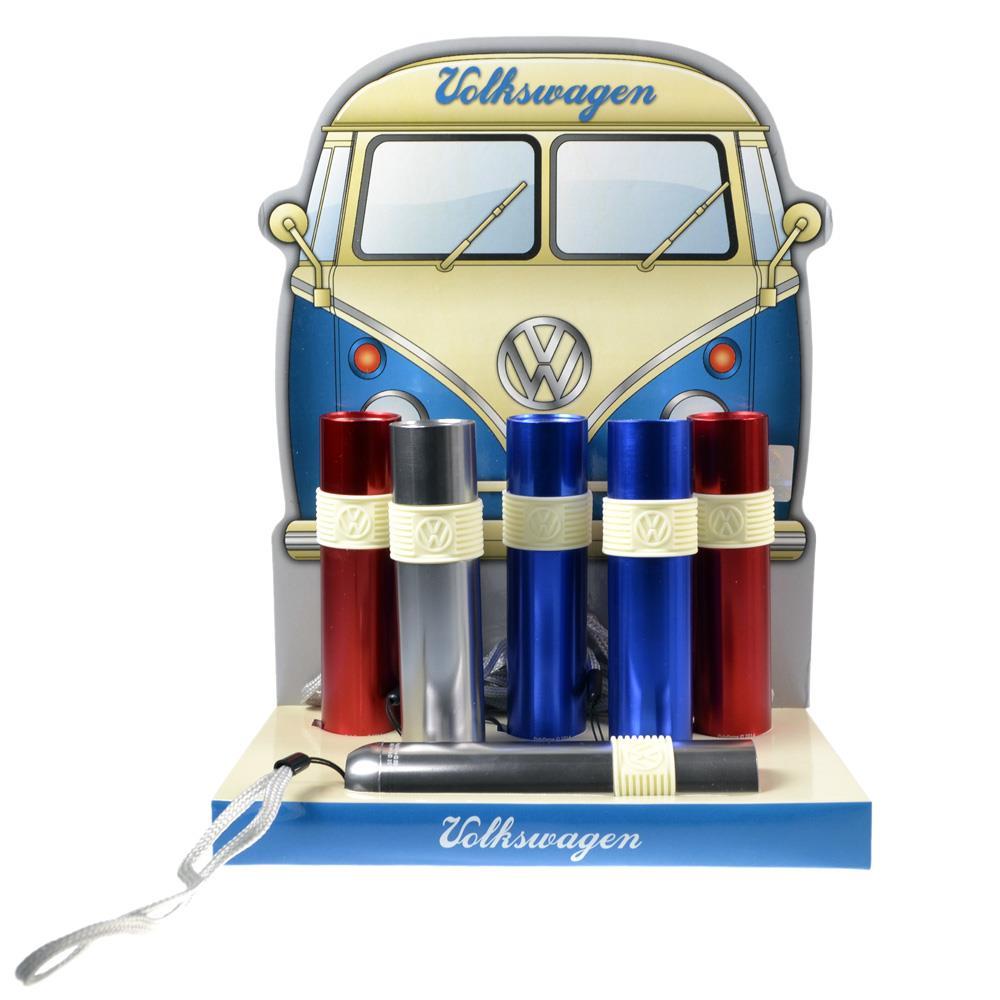LED Taschenlampen mit kultigem VW Logo