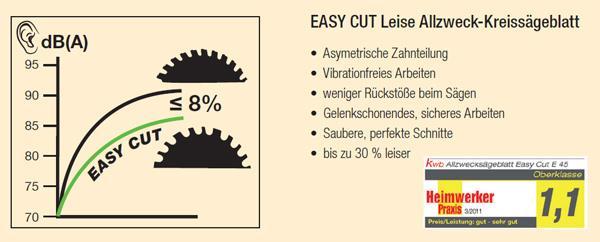 EASY CUT Allzweck Kreissägeblatt