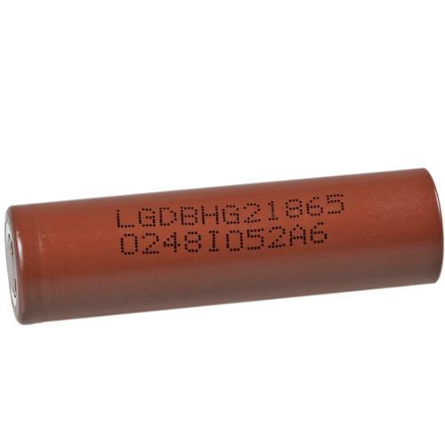 LG IIVR-18650HGZ - 3000 mAh Li-Ionen Akku