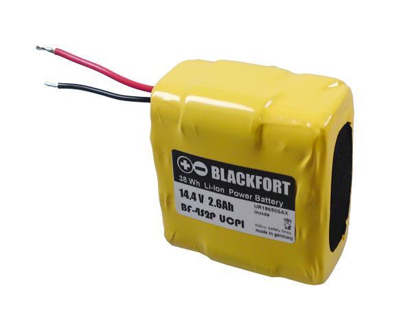 Li-Ion Akkupack im Schrumpfschlauch BF-M8-801