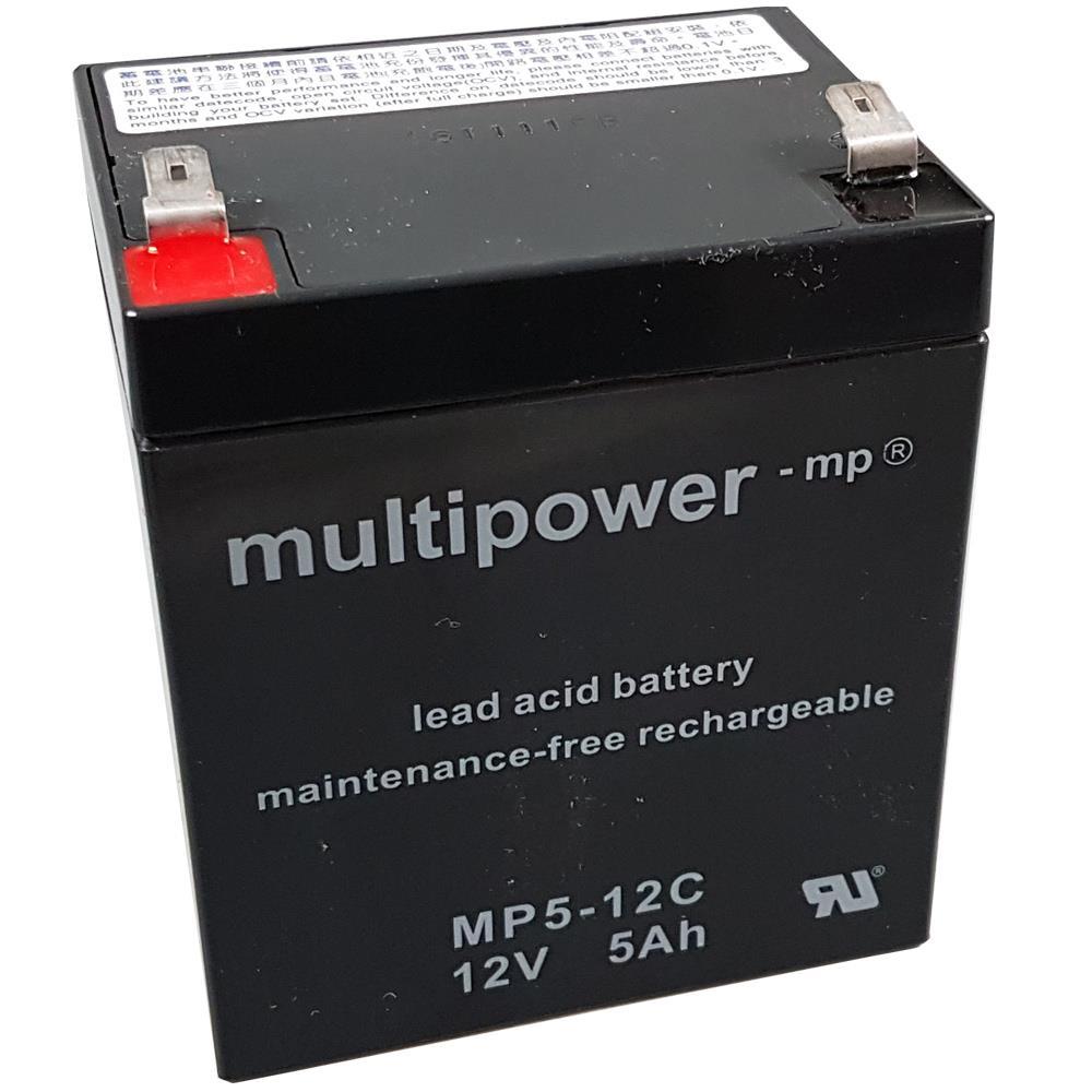 Multipower MP5-12C Bleigel-Akku 12V 5Ah
