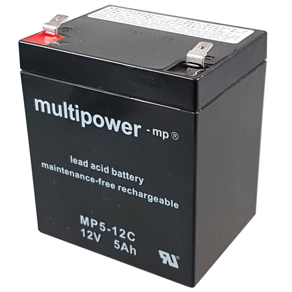 Multipower MP5-12C Zyklen-Akku 12V 5Ah