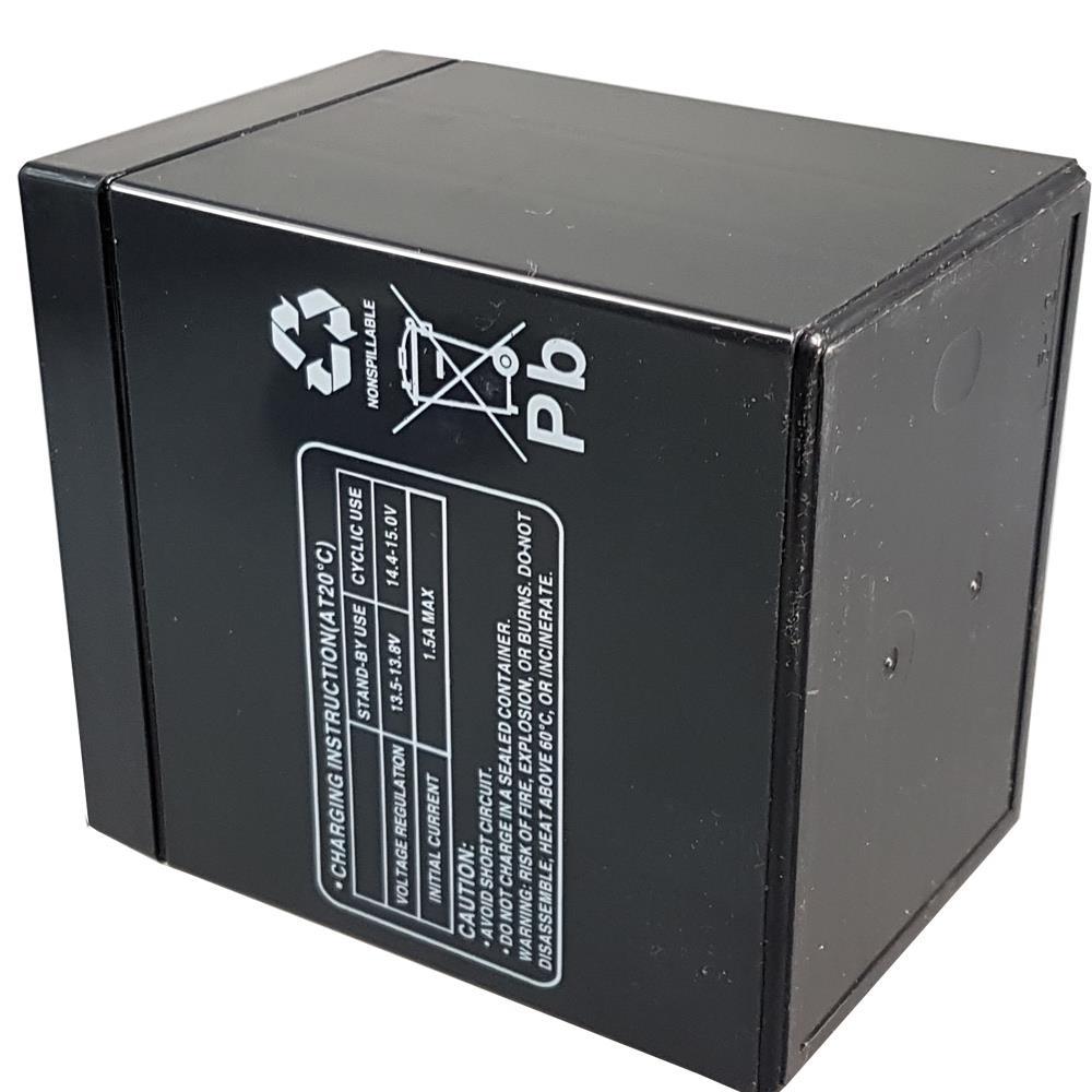 Multipower MP5-12C Zyklen-Akku Unterseite