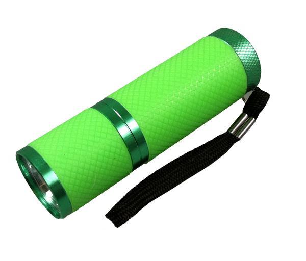 NLED-3W Taschenlampe neongrün