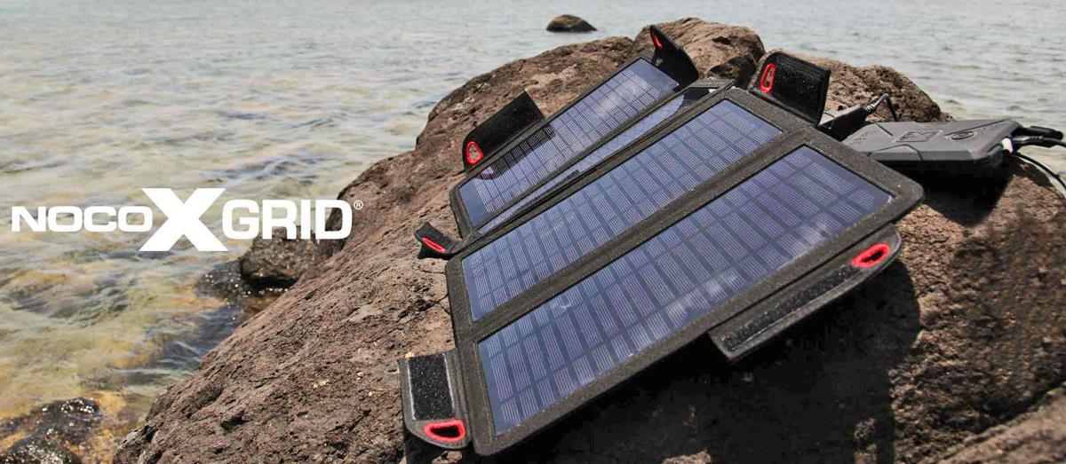 Noco 9W Solarpanel Anwendungsbeispiel