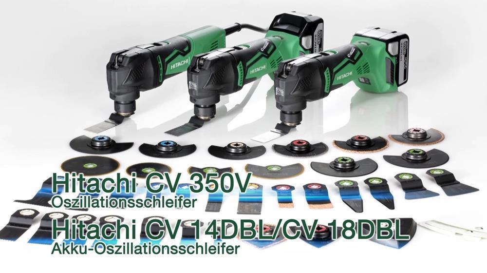 Oszillations-Schleifer Zubehör von Hitachi